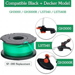 """FutureWay String Trimmer Replacement Spool Line 0 08"""" GH3000"""
